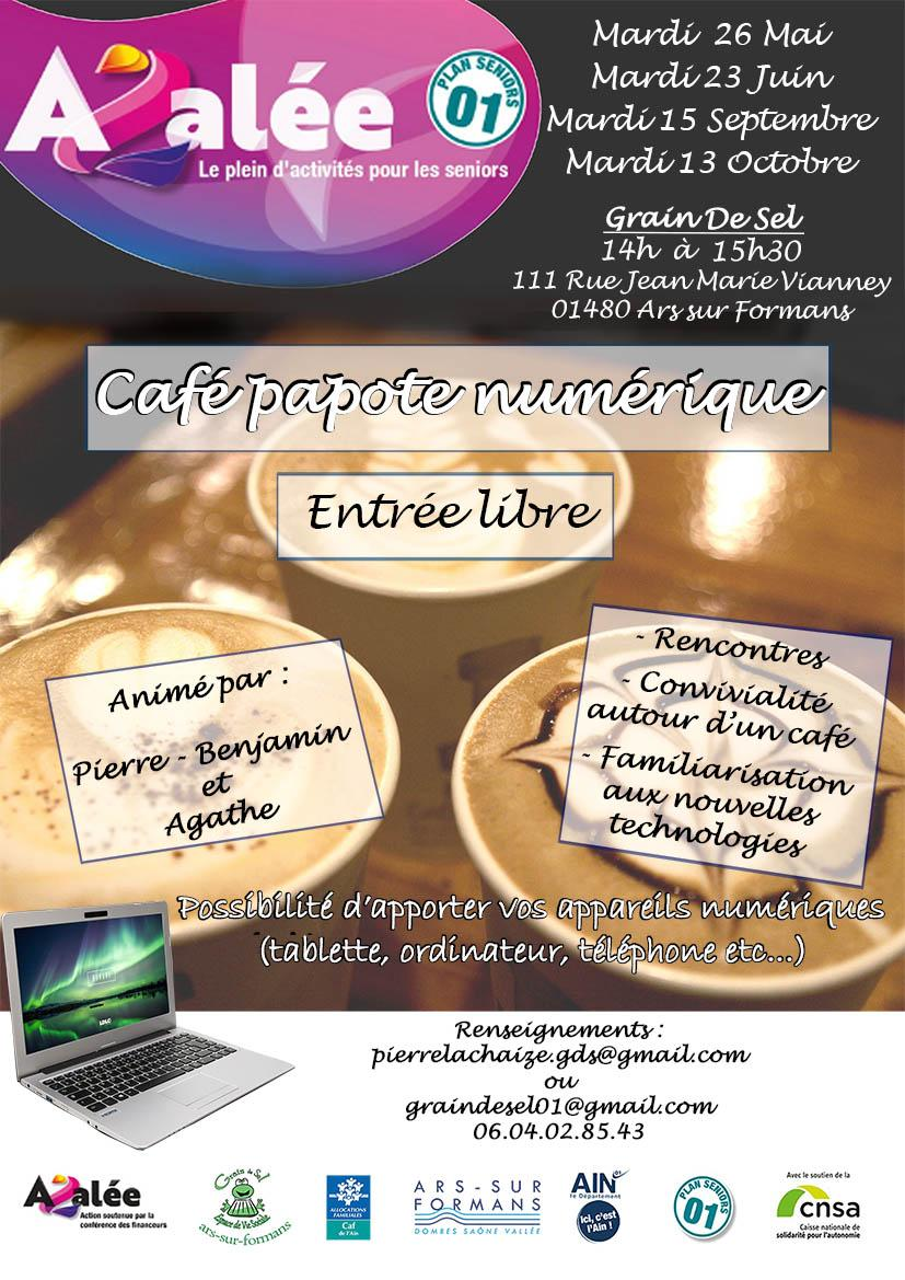 Cafe papote mai a octobre