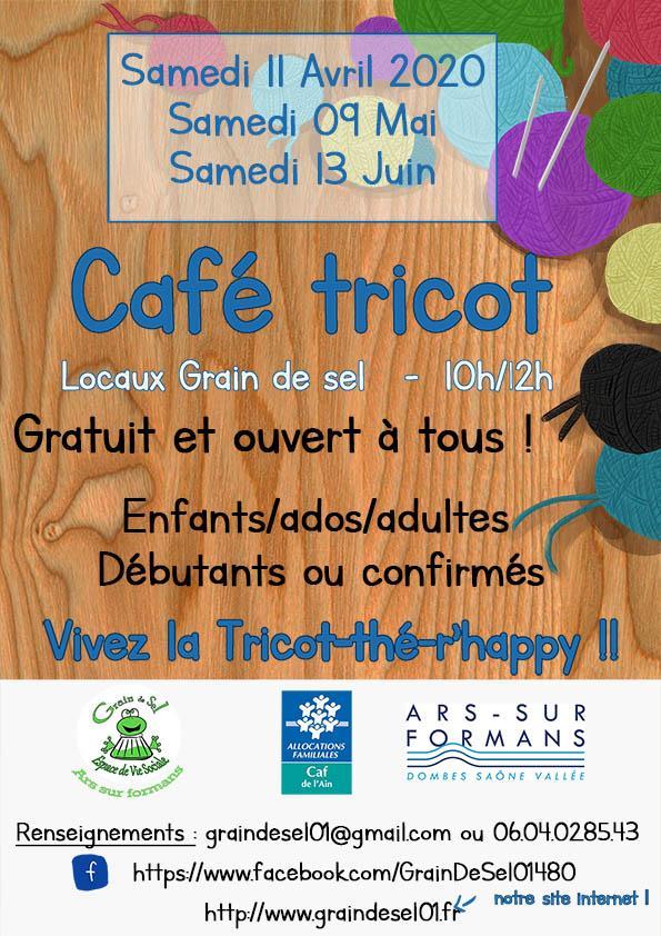 Cafe tricot avril mai juin 2020